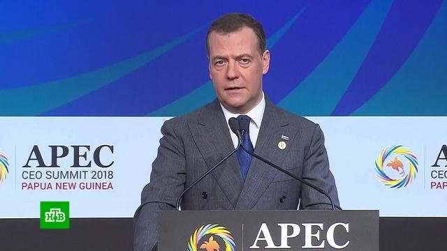 Медведев: экономические санкции стали инструментом политического давления.АТЭС, Медведев, экономика и бизнес.НТВ.Ru: новости, видео, программы телеканала НТВ