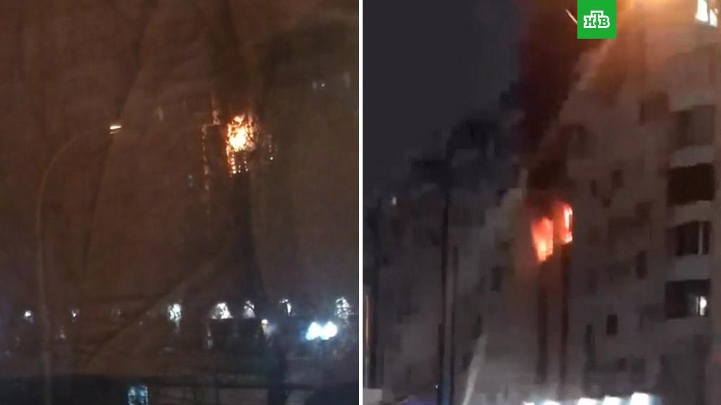 В Краснодаре эвакуируют жильцов горящей многоэтажки.Краснодар, МЧС, пожары.НТВ.Ru: новости, видео, программы телеканала НТВ