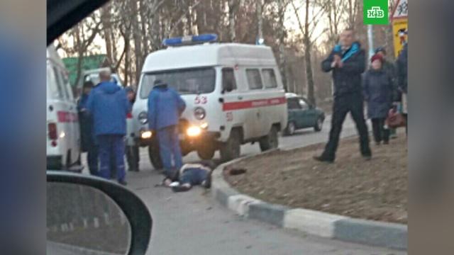Ульяновский полицейский убил пешехода: фото.Сотрудника ульяновского УМВД подозревают в смертельном ДТП.ДТП, полиция, Ульяновск.НТВ.Ru: новости, видео, программы телеканала НТВ