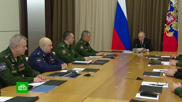 Путин: выход США из ракетного договора не останется без ответа.Путин, США, вооружение, дипломатия, ракеты.НТВ.Ru: новости, видео, программы телеканала НТВ