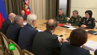 Путин поставил задачи военным по переоснащению армии