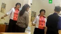 Учительница из Северодвинска отхлестала учеников скакалкой.Учительница физкультуры школы в Северодвинске на уроке отхлестала двух школьников скакалкой со словами «Жопа все стерпит».дети и подростки, драки и избиения, Комсомольск-на-Амуре, школы.НТВ.Ru: новости, видео, программы телеканала НТВ