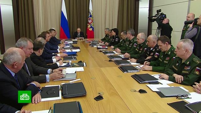 Путин потребовал ускорить диверсификацию ОПК.ВПК, Путин.НТВ.Ru: новости, видео, программы телеканала НТВ