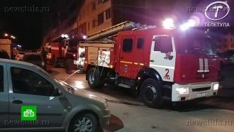 ВТуле выясняют причину пожара вмногоэтажке, где погибли дети