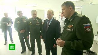 Путин обсудил сруководством Минобороны создание «умного» ивысокоточного оружия