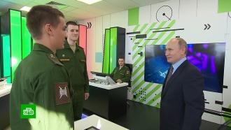 Путину показали платформу для ботинок сапера