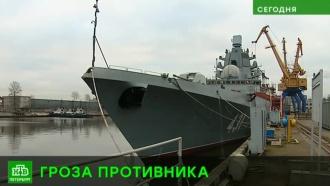 Петербургские судостроители представили новейший цифровой фрегат