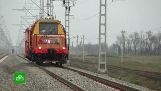 Вкубанской столице тестируют объездной железнодорожный узел