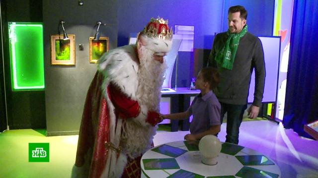 Дед Мороз вместе скараваном НТВ добрался до Екатеринбурга.НТВ.Ru: новости, видео, программы телеканала НТВ