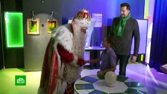 Дед Мороз вместе скараваном НТВ добрался до Екатеринбурга