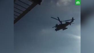 Россия направила вертолеты к&nbsp;украинским <nobr>кораблям-нарушителям</nobr>