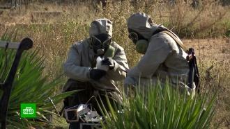 Российские военные подтвердили химическое заражение вАлеппо