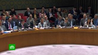 Совбез ООН заблокировал рассмотрение инцидента сукраинскими кораблями