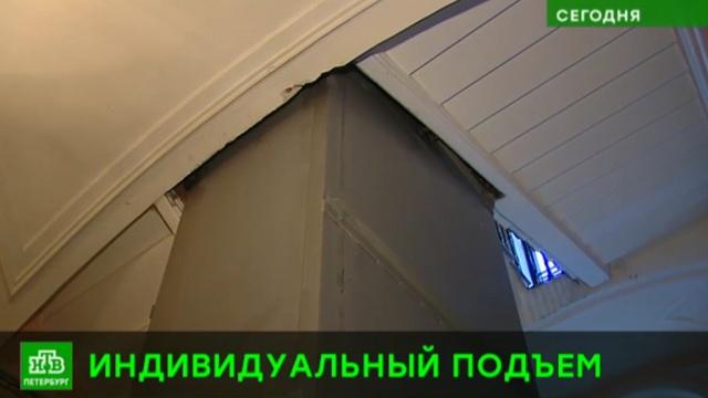 В исторических петербургских домах шахты приспосабливают под современные лифты.ЖКХ, Санкт-Петербург, лифты.НТВ.Ru: новости, видео, программы телеканала НТВ