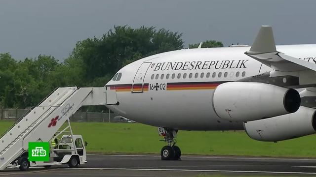 Из-за поломки самолета Меркель прервала полет на саммит G20и вернулась вГерманию.Германия, Меркель, самолеты.НТВ.Ru: новости, видео, программы телеканала НТВ