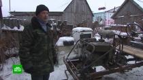 Ульяновский пенсионер из подручных средств собирает грузовики и тракторы