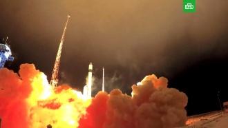 Скосмодрома вПлесецке стартовала ракета «Рокот» своенными спутниками