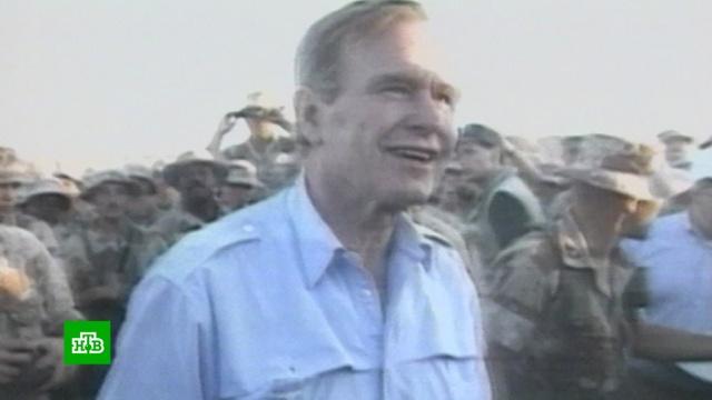Умер Джордж Буш — старший.США, смерть.НТВ.Ru: новости, видео, программы телеканала НТВ