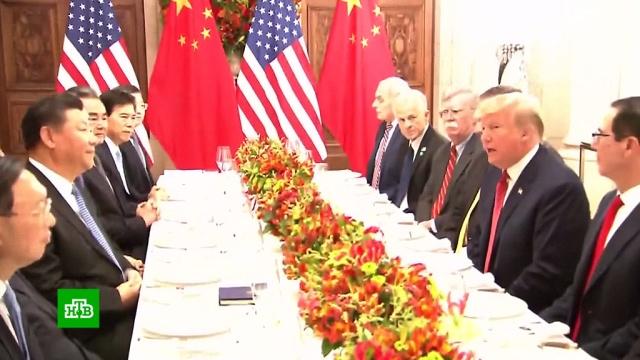 Трамп обещал не вводить с1января новые пошлины на товары из Китая.G20, Аргентина, Китай, США, Трамп Дональд, налоги и пошлины, торговля.НТВ.Ru: новости, видео, программы телеканала НТВ