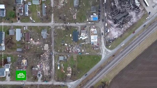 Более 20человек пострадали врезультате торнадо вСША.США, погода.НТВ.Ru: новости, видео, программы телеканала НТВ