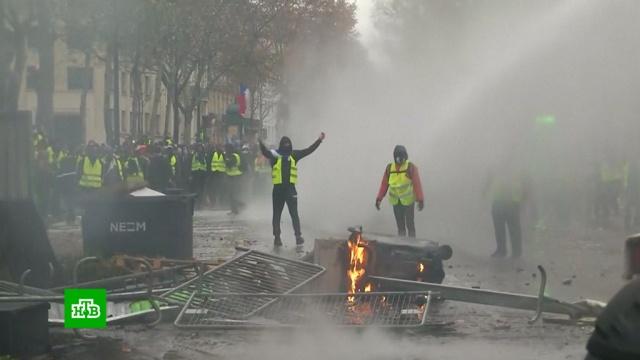 Макрон инициировал встречу сдемонстрантами.Макрон, Париж, Франция, беспорядки, митинги и протесты, тарифы и цены.НТВ.Ru: новости, видео, программы телеканала НТВ