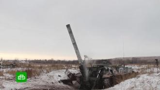 Артиллеристы вОренбургской области осваивают самые большие минометы вмире