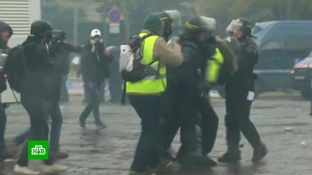 Более 200задержанных за погромы вПариже предстанут перед судом.Париж, Франция, беспорядки, задержание, митинги и протесты, полиция.НТВ.Ru: новости, видео, программы телеканала НТВ
