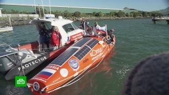 Конюхов отправился вкругосветное плавание на веслах