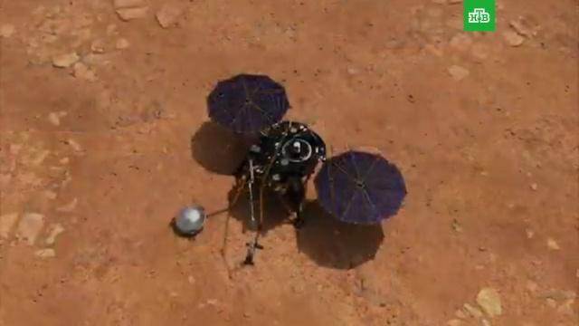 NASA опубликовало первую висторию запись шума марсианского ветра.Марс, НАСА, космонавтика, космос.НТВ.Ru: новости, видео, программы телеканала НТВ