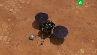 NASA опубликовало первую висторию запись шума марсианского ветра