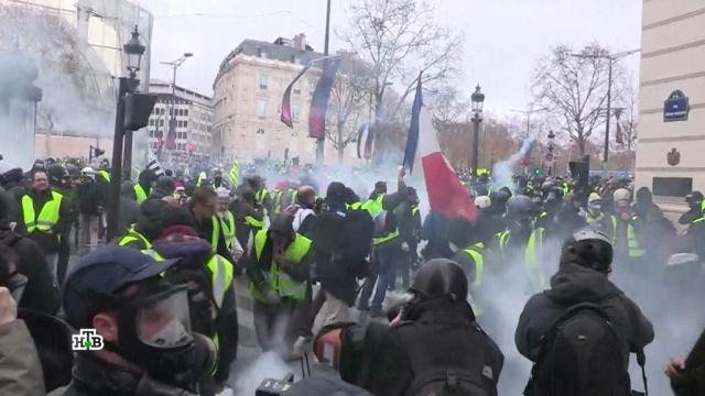 Число пострадавших в ходе беспорядков в Париже возросло до 55.Париж, Франция, беспорядки, митинги и протесты, тарифы и цены.НТВ.Ru: новости, видео, программы телеканала НТВ