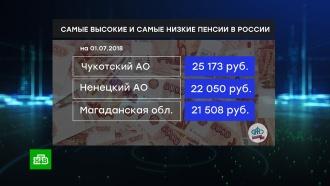 ПФР составил рейтинг регионов по размеру пенсии