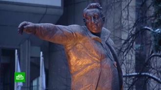 К<nobr>100-летию</nobr> хоккейного гения: вМоскве открыли памятник Анатолию Тарасову