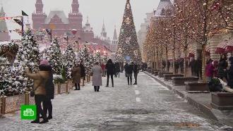 Тысячи гирляд и уникальное световое шоу: Москва готова к встрече Нового года