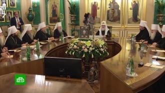 СБУ принудительно увезла в Киев митрополита УПЦ Агапита