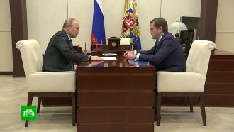 Глава Росрыболовства рассказал Путину оснижении цен на красную рыбу иикру