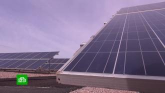 Под Дамаском запустили первую вСирии солнечную электростанцию