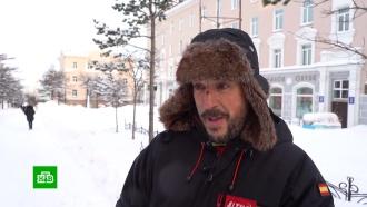 Испанский велопутешественник чуть не замерз насмерть вМагадане