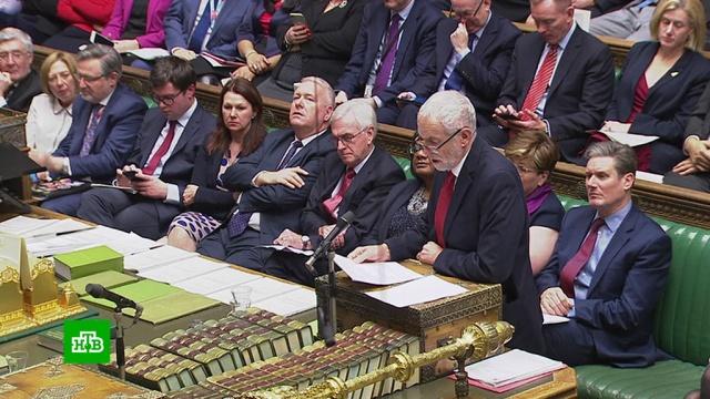 Премьер-министру Великобритании грозит вотум недоверия.Великобритания, Европейский союз, Тереза Мэй.НТВ.Ru: новости, видео, программы телеканала НТВ