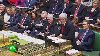 Премьер-министру Великобритании грозит вотум недоверия