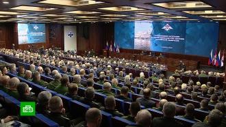 Путин обсудил с военными ответ на вызовы со стороны США