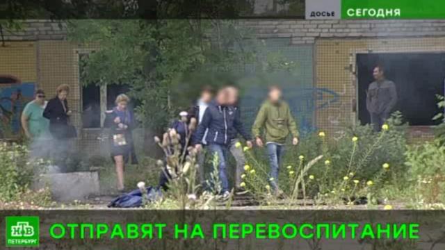 Забившие бомжей питерские подростки отправятся ввоспитательную колонию.Санкт-Петербург, дети и подростки, жестокость, приговоры, суды, убийства и покушения.НТВ.Ru: новости, видео, программы телеканала НТВ