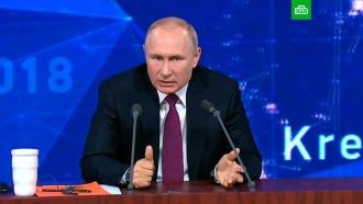 Путин ответил на вопрос о«милитаризации» Крыма