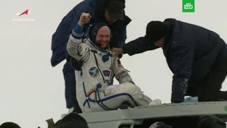 Вернувшийся сМКС экипаж эвакуирован из «Союза»