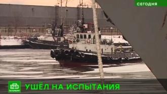 Корабль-невидимку из Петербурга отправили на ходовые испытания