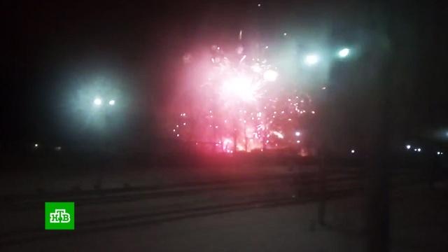 МЧС: пожар на складе пиротехники вПетербурге локализован.МЧС, Санкт-Петербург, пожары.НТВ.Ru: новости, видео, программы телеканала НТВ