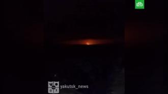 Разрыв магистрального газопровода ипожар произошли вЯкутии
