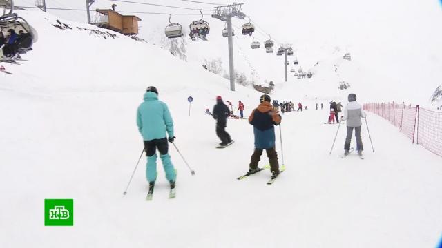 Единый ски-пасс и карнавалы: сочинские курорты открывают горнолыжный сезон.Краснодарский край, горные лыжи, курорты, туризм и путешествия.НТВ.Ru: новости, видео, программы телеканала НТВ