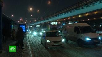 Предновогодние пробки вМоскве достигли 10баллов