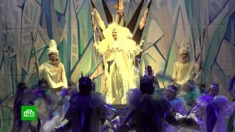 Дети из прифронтовых районов побывали на новогодней елке вДонецке